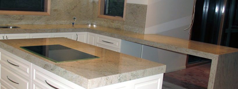Ivory Fantasy Granite Kitchen Top