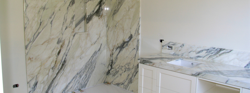 Natural Stone Marble Calacata Gold Bathroom Melbourne