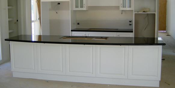 granite kitchen top black zimbabwe stonemasons melbourne