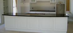Granite Kitchen Top - Black Zimbabwe