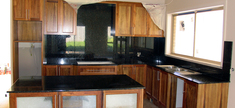 Granite Kitchen - Tan Brown
