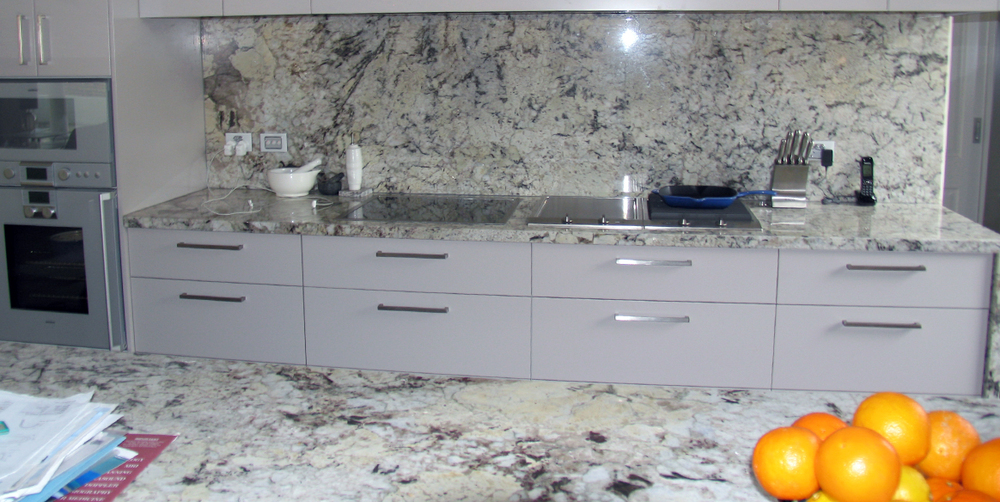 Granite Kitchen Top Ice Blue Stonemasons Melbourne