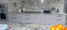 Granite Kitchen Top - Ice Blue
