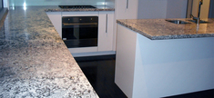 Granite Kitchen Top - Antique White