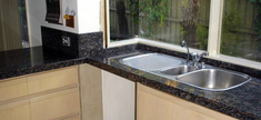 Granite Kitchen Top - Sapphire Brown