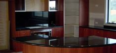 Granite Kitchen Top - Black Absoluto