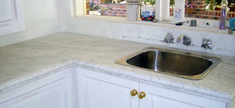 Marble Kitchen Top - White Carrara 30mm