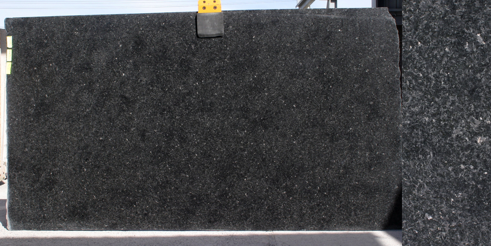 Black Granite Slabs : Granite slab angola black stonemasons melbourne