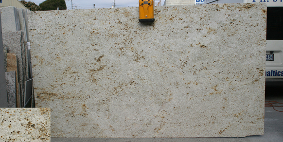 Granite Slab Colonial Gold Stonemasons Melbourne