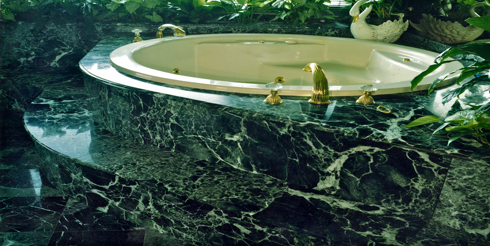 Marble Bathroom Verdi Alpi Stonemasons Melbourne