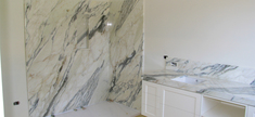 Bathroom - Calacatta Gold Marble