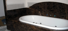 Bathroom - Emperador Dark Marble