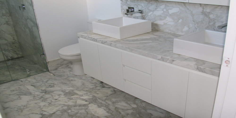 Bathroom Calacatta Marble Stonemasons Melbourne