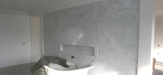 Bathroom - White Carrara Marble