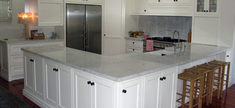 Kitchen - White Carrara Marble