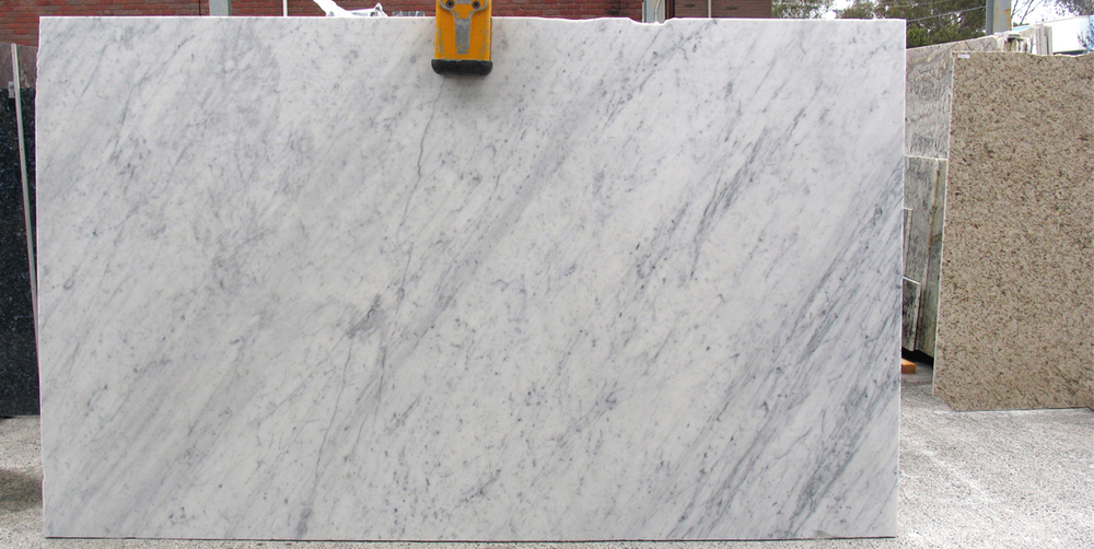 Popular Marble Slab - Bianco Venatino - Stonemasons Melbourne EW76