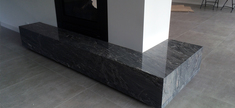 Fireplace-Silver Forest Pink Granite