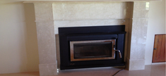 Fireplace - Botticino Classico Marble