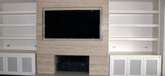 Fireplace Roman Travertine