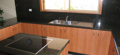 Kitchen Green Ubatuba Granite