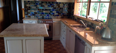 Kitchen - Kashmir Gold Granite