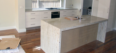 Kitchen-River White Granite