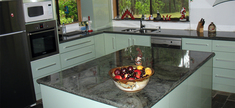 Kitchen - Green Candies Granite