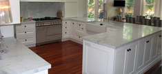 Marble Kitchen-Honed Carrara C