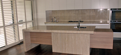 Kitchen-Roman Travertine