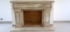 Fire Place-Daino Reale Marble