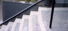 Granite Staircase - White Sardo
