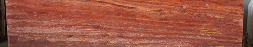 Travertine Slab - Red
