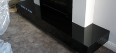 Fireplace - Zimbabwe Black Granite